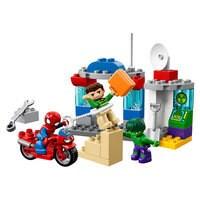 Image of Spider-Man & Hulk Adventures LEGO Duplo Playset # 1