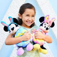 Image of Mickey Mouse Plush Bunny - Small - 11'' # 2