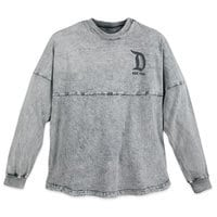 Disneyland Mineral Wash Spirit Jersey for Adults - Gray