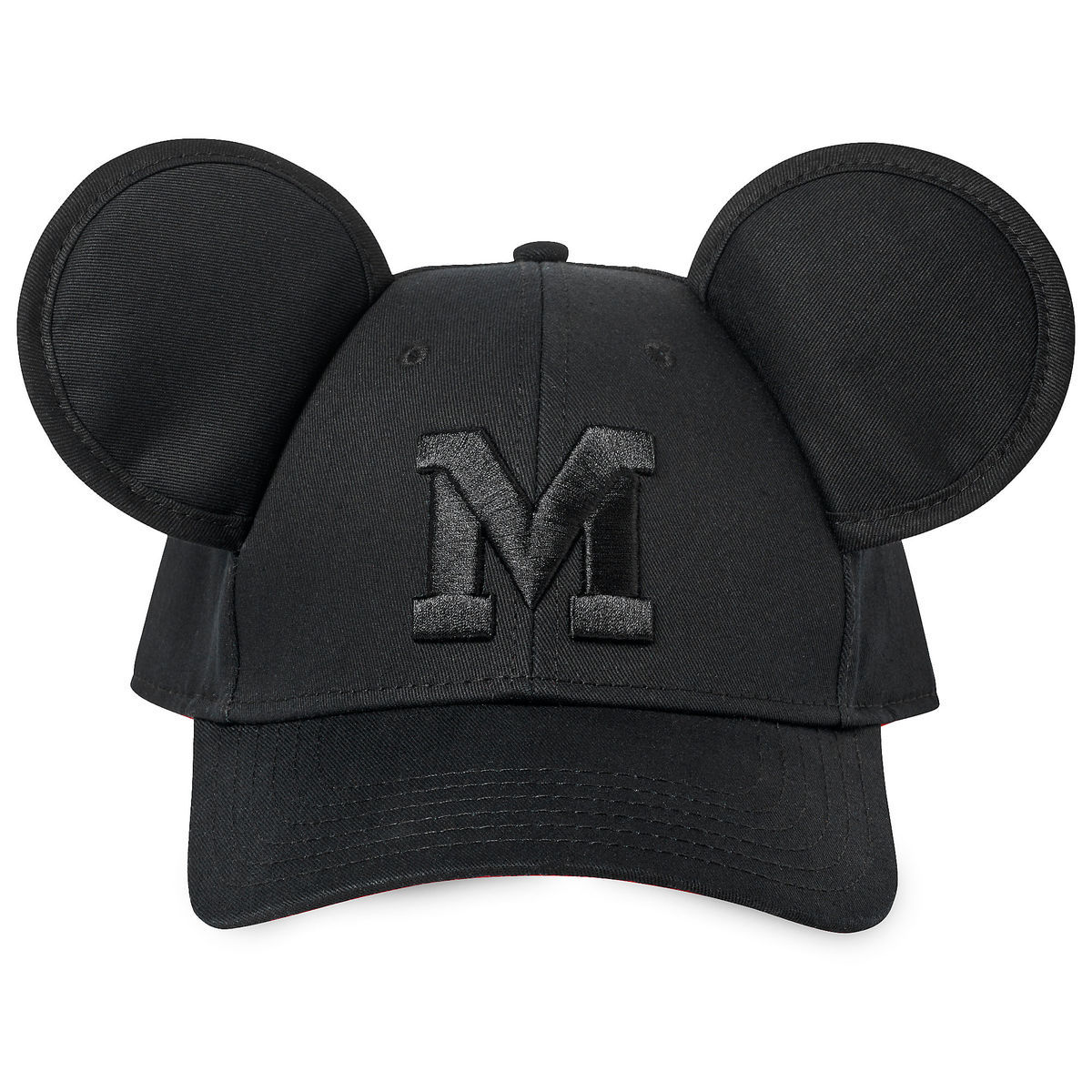 87160c5c09a Product Image of Mickey Mouse Baseball Ear Cap for Adults   1