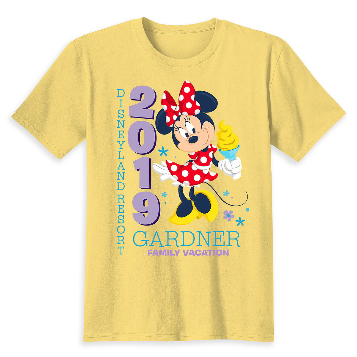 7ad765035 Minnie Mouse Family Vacation T-Shirt for Kids - Disneyland 2019 - Customized
