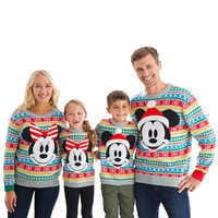 Image of Mickey and Minnie Mouse Holiday Sweater Collection for Family # 1