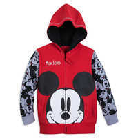 Image of Mickey Mouse Hoodie for Boys - Personalizable # 1