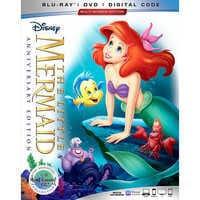 Image of The Little Mermaid Blu-ray Combo Pack Anniversary Edition - Pre-Order # 1