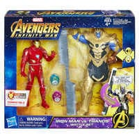Image of Iron Man vs. Thanos Battle Set - Marvel's Avengers: Infinity War # 2