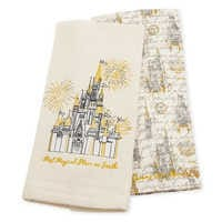 Image of Fantasyland Castle Dish Towel Set - Walt Disney World # 1