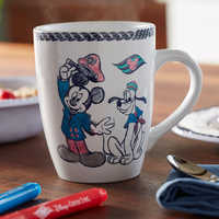 Image of Disney Cruise Line Mug and Marker Set # 2