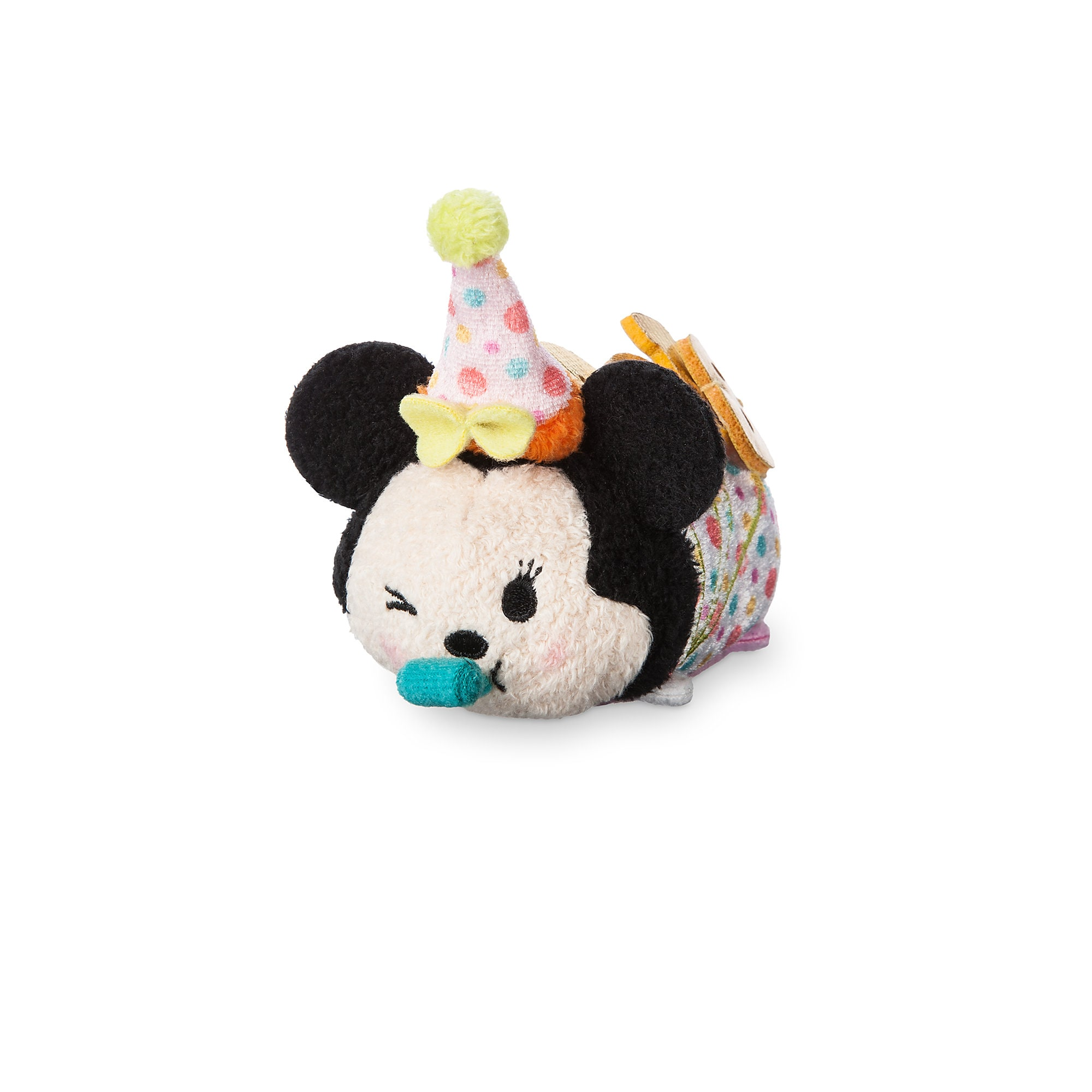 Minnie Mouse Tsum Tsum Plush Happy Birthday 2018 Mini