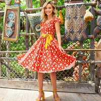 Image of Pineapple Swirl Dress for Women # 2