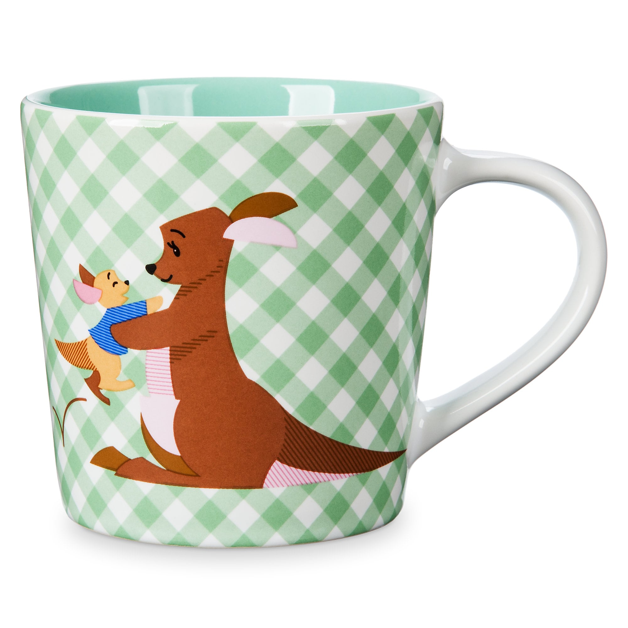 Kanga and Roo Checkered Mug