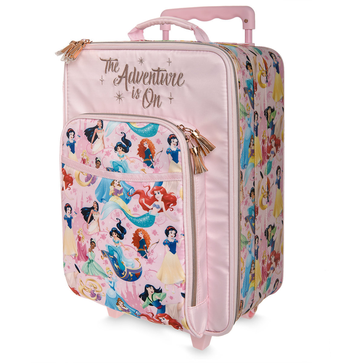 d23638f00d8 Product Image of Disney Princess Rolling Luggage   1