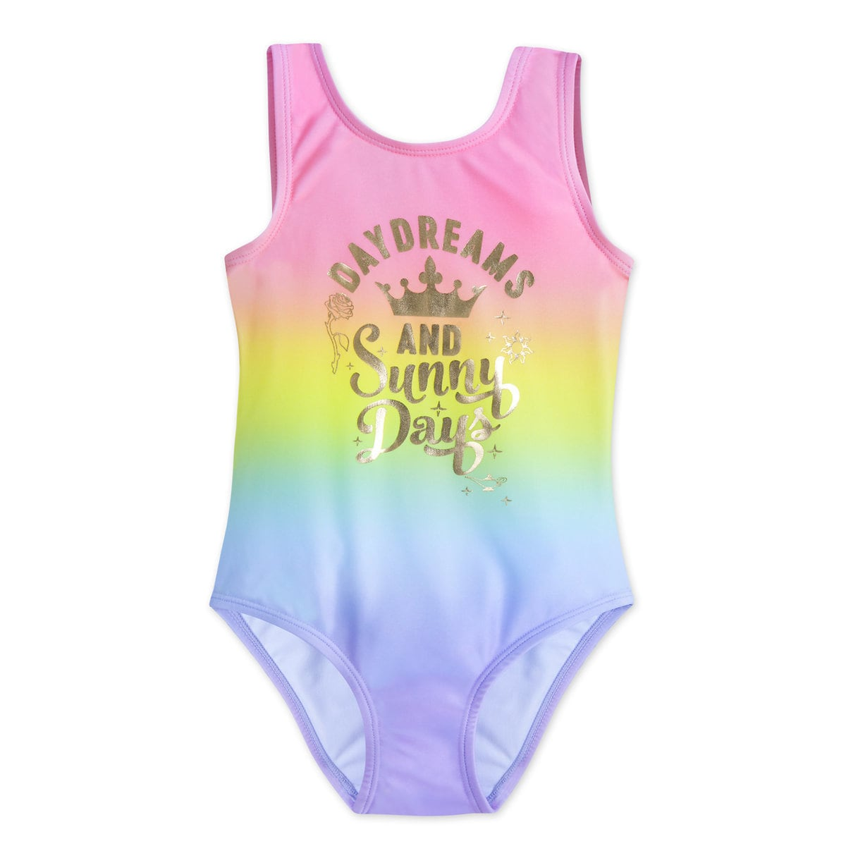 38e4d35c1db Product Image of Disney Princess Rainbow Swimsuit for Girls # 1