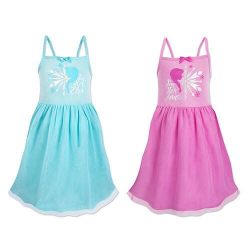 Frozen Best Friends Nightshirts Set for Girls - 2-Pack