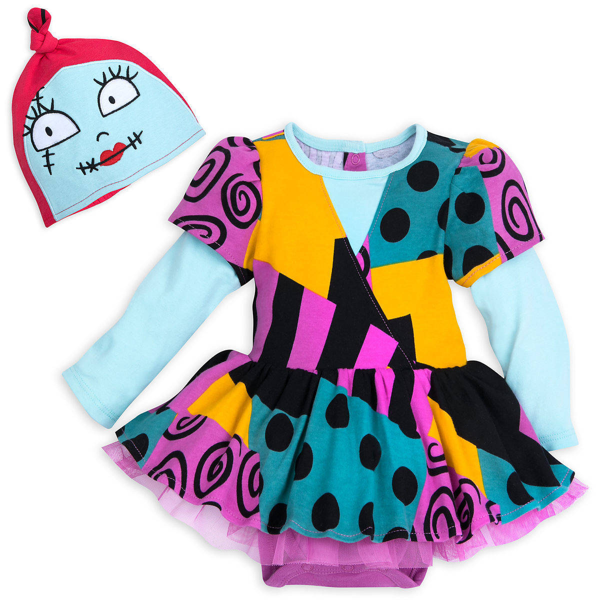56a0d572a Sally Costume Bodysuit Set for Baby - The Nightmare Before Christmas ...