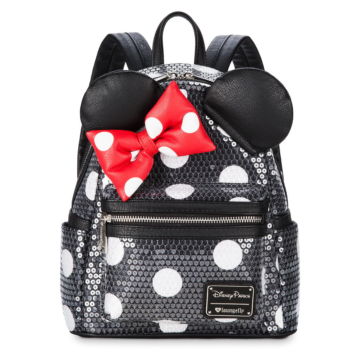 21df7d08199 Product Image of Minnie Mouse Sequined Mini Backpack by Loungefly   1