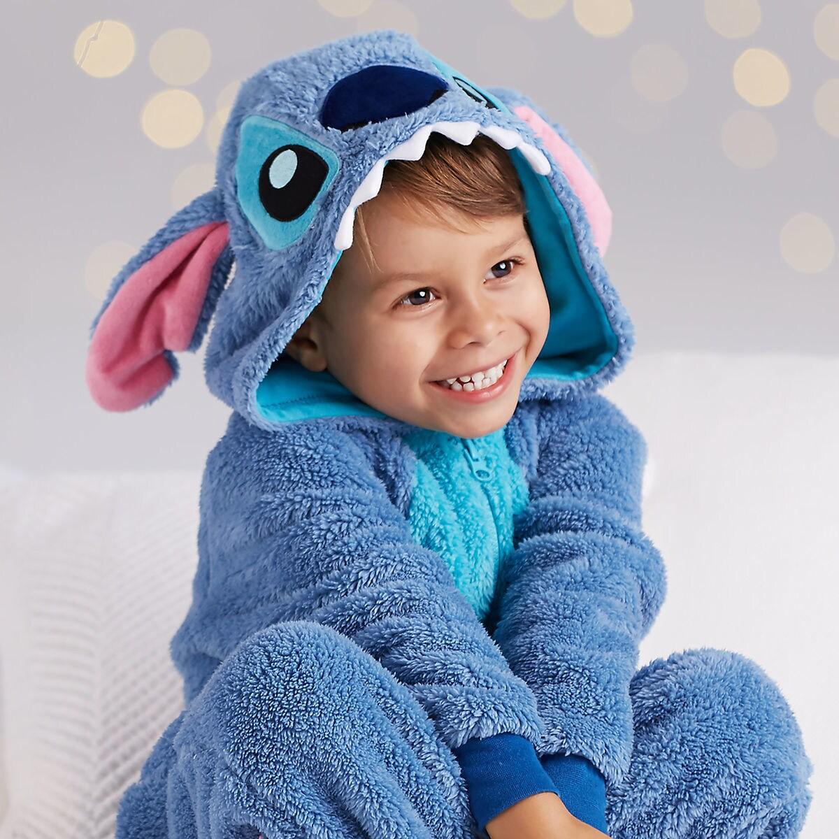 Disney 迪士尼 史迪奇shopDisney儿童抓绒连体睡衣 $16.99(约117元)