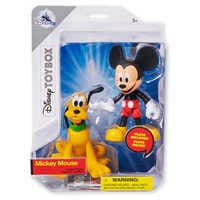Image of Mickey Mouse and Pluto Action Figure Set - Disney Toybox # 2