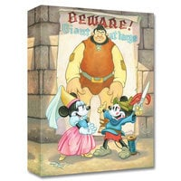 Image of Mickey and Minnie Mouse ''Giant at Large'' Giclée on Canvas by Tim Rogerson # 1