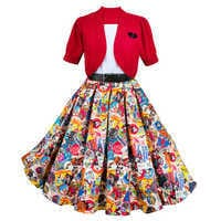 Image of Mickey Mouse Dress and Cardigan for Women # 1