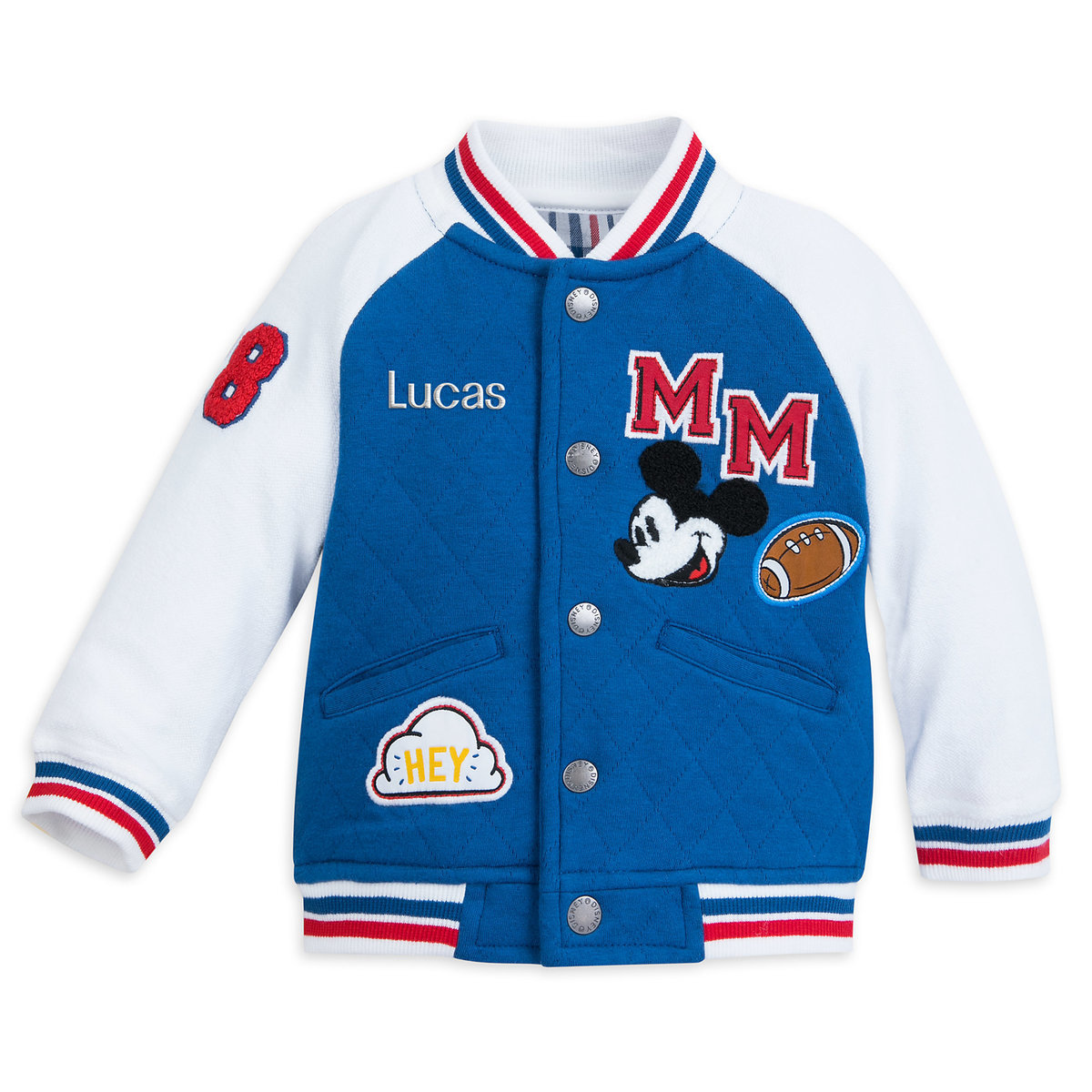 2768fafba7fc Mickey Mouse Varsity Jacket for Baby - Personalizable