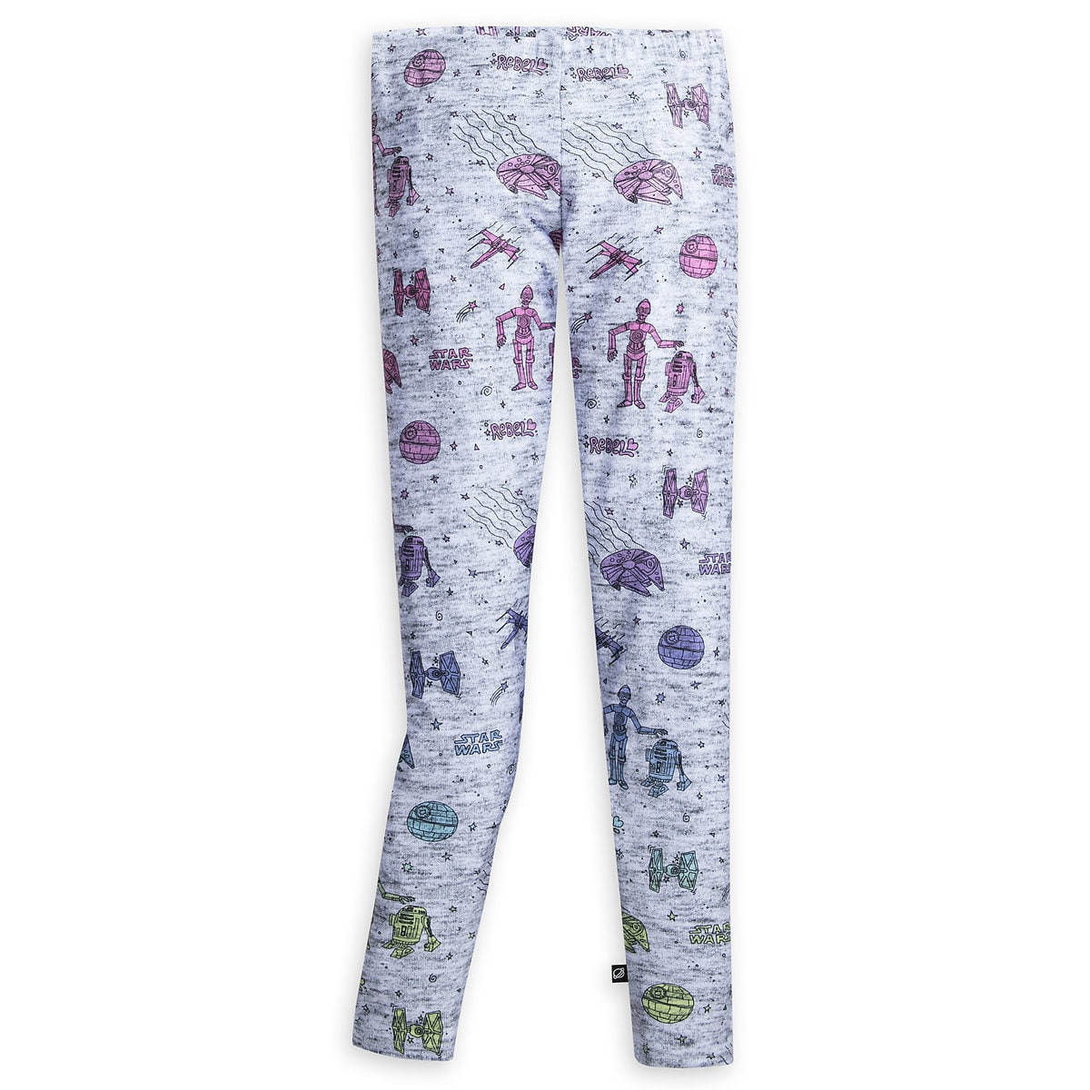 398972f0b0d10 Product Image of Star Wars Doodle Leggings for Tweens by Terez # 1