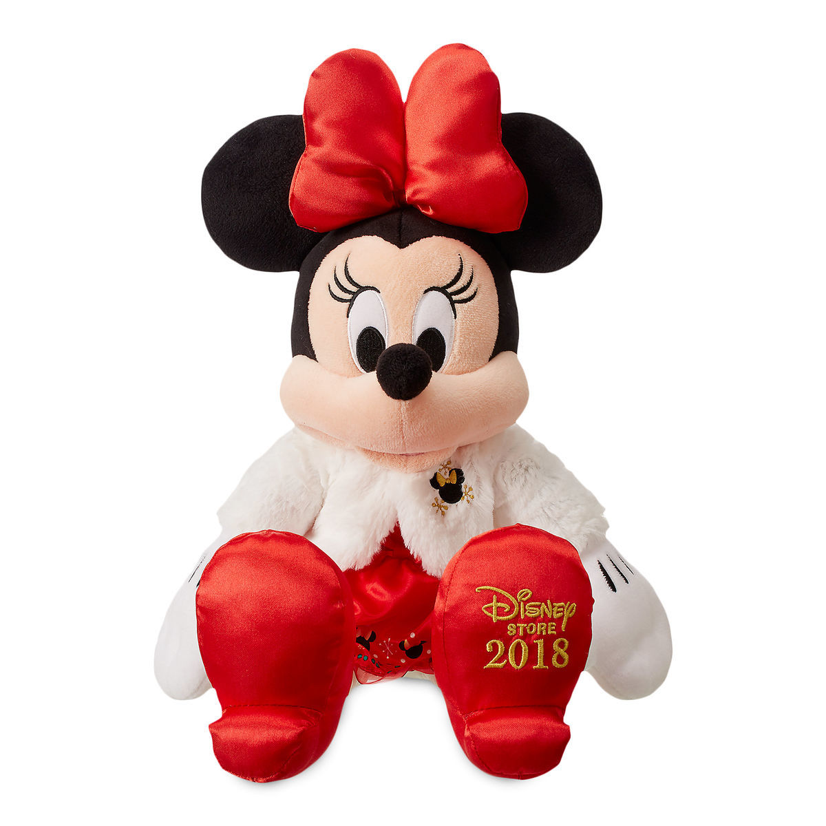 Minnie Mouse Holiday Plush Medium Shopdisney