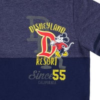 Mickey Mouse Collegiate Colorblock T-Shirt for Boys - Disneyland
