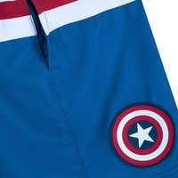 Image of Captain America Swim Trunks for Kids # 4