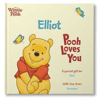 Image of Winnie the Pooh: Pooh Loves You Book - Hardback - Personalizable # 1