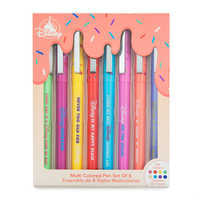 Image of Mickey Mouse Donut Multi Colored Pen Set # 2