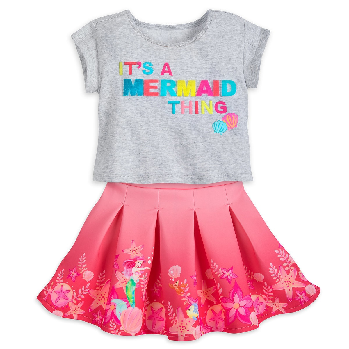 d56a82e2e Product Image of Ariel Skirt Set for Girls # 1