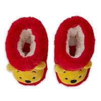 Image of Winnie the Pooh Plush Slippers for Baby # 3