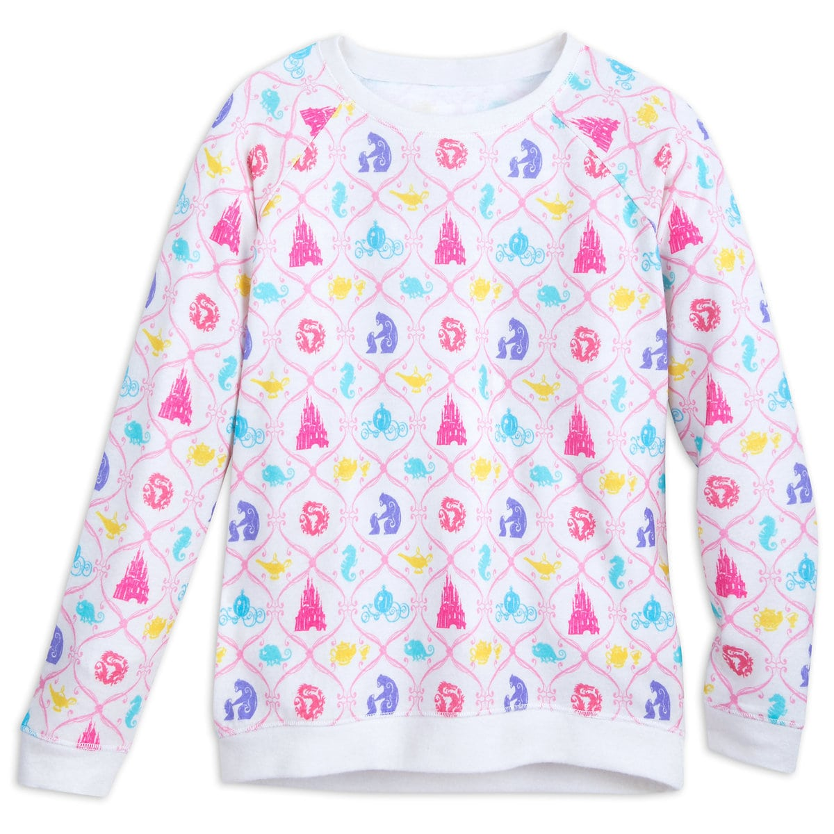 e5367a8d Product Image of Disney Princess Icon Pattern Sweater for Girls # 1