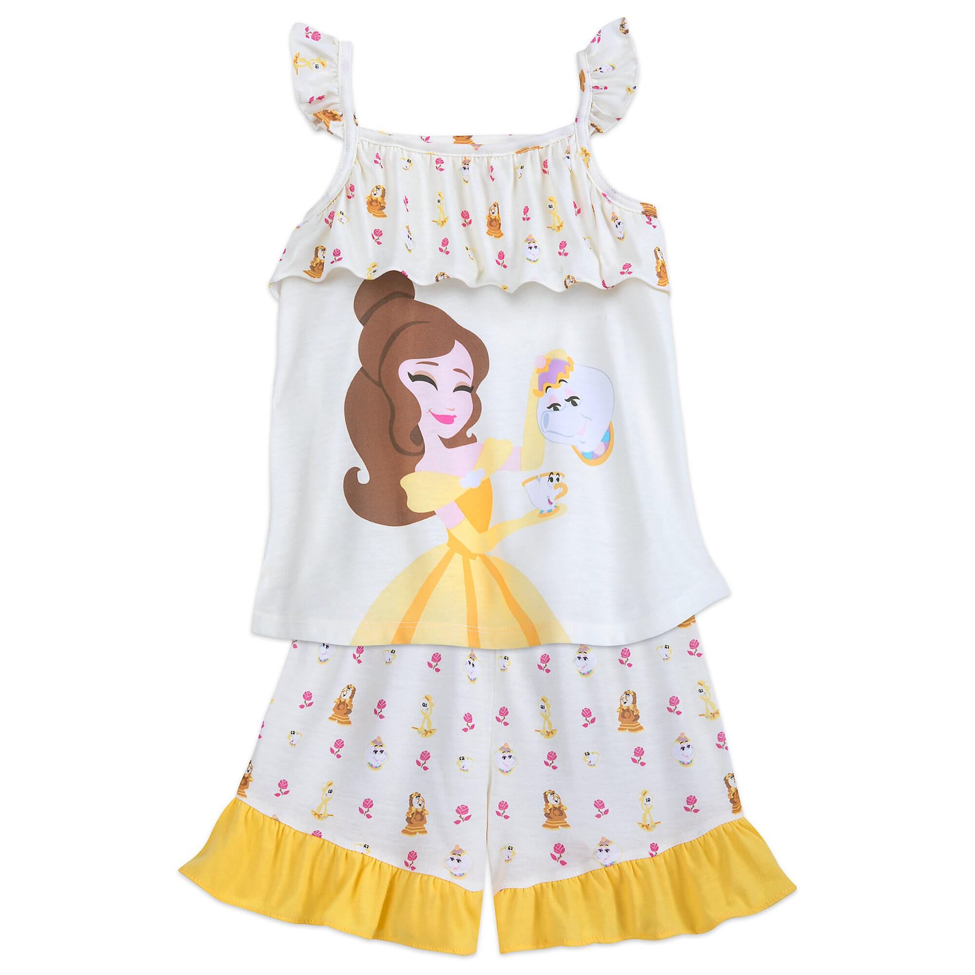 Belle Pajama Set for Girls