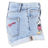 Mickey Mouse Denim Shorts by SIWY