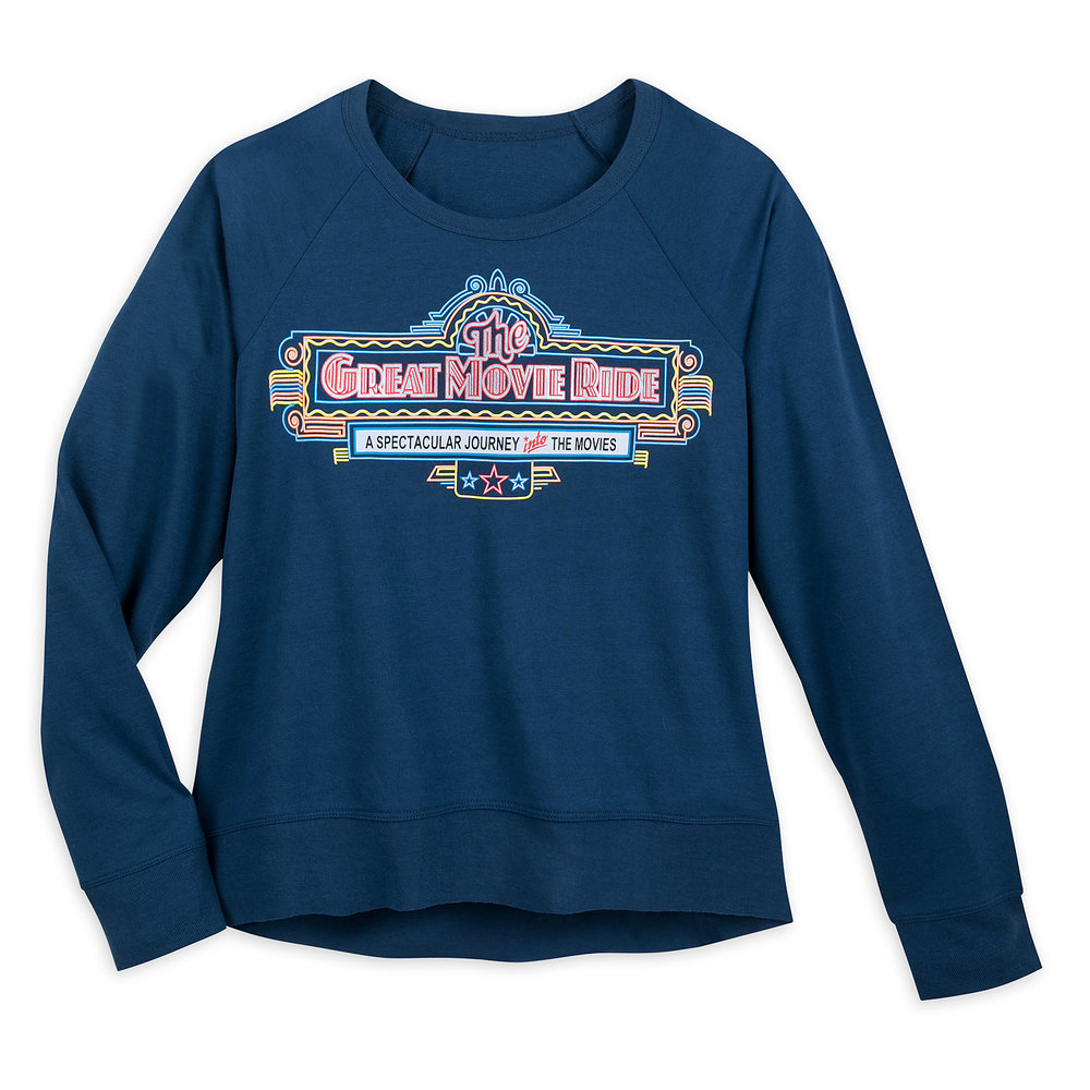 The Great Movie Ride Raglan Shirt for Women Official shopDisney