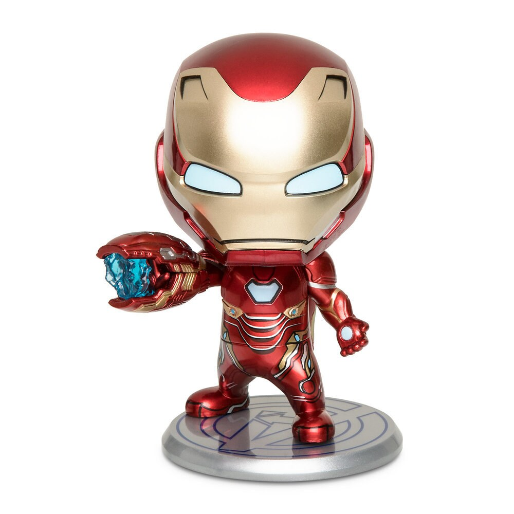 a120701a Iron Man Mark L Cosbaby Bobble-Head Figure by Hot Toys – Marvel's Avengers:  Endgame Official shopDisney. Price: $16.95