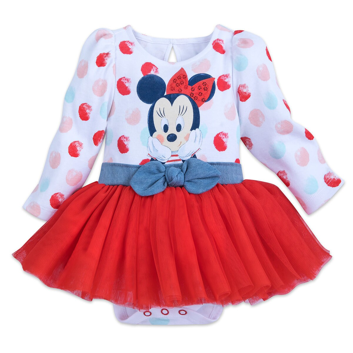 19d103d971 Product Image of Minnie Mouse Tutu Bodysuit for Baby # 1