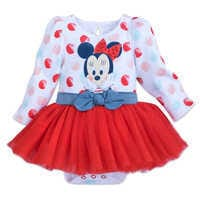 Image of Minnie Mouse Tutu Bodysuit for Baby # 1