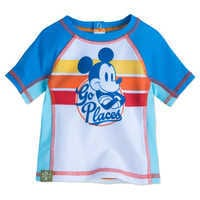Image of Mickey Mouse Rash Guard for Baby # 1