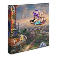 Image of ''Aladdin'' Gallery Wrapped Canvas by Thomas Kinkade Studios # 2