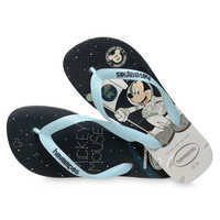 Image of Mickey Mouse Moon Landing Flip Flops for Adults by Havaianas - 1960s # 4