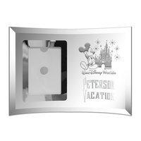 Image of Walt Disney World Glass Frame by Arribas - Personalizable # 2