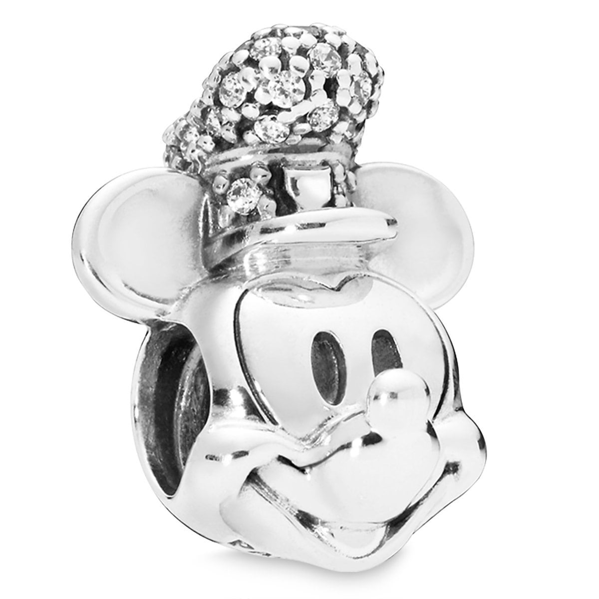 406c24098 Product Image of Mickey Mouse as Steamboat Willie Charm by Pandora Jewelry  # 1