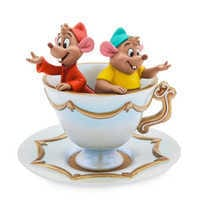 Image of Jaq and Gus Figure Trinket Tray - Cinderella # 1