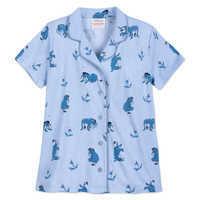 Image of Eeyore Pajama Set for Women by Munki Munki # 2