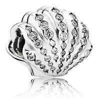 Image of Ariel Shell Charm by Pandora Jewelry # 1