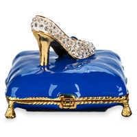 Image of Cinderella Slipper Trinket Box by Arribas Brothers # 3