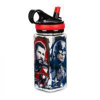 Image of Marvel's Avengers: Endgame Water Bottle with Built-In Straw # 3