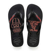 Image of Darth Vader Flip Flops for Kids by Havaianas # 1